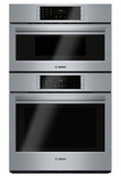 """HBL8752UC 30"""" Bosch 800 Series Speed Combination Wall Oven with Fast Preheat and Self-Cleaning Mode - Stainless Steel"""