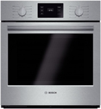"""HBN5451UC Bosch 500 Series 27"""" Single Electric Wall Oven with Thermal Cooking - Stainless Steel"""