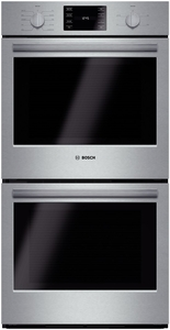 """HBN5651UC Bosch 500 Series 27"""" Double Electric Wall Oven with Convection Cooking - Stainless Steel"""