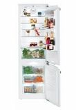 "HCB1021 Liebherr 24"" Integrated Refrigerator with FrostSafe System and LED Light Column - White"