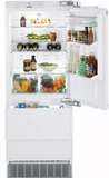 "HC1550 Liebherr 30"" Integrated Right Hinge Refrigerator with 2 Bottom Freezers and Wine Rack - Custom Panel"