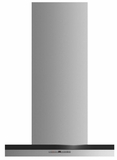 """HC24DTXB2 Fisher & Paykel 24""""  Wall Chimney Vent Hood with 600 CFM Blower and Soft Touch Control Panel - Stainless Steel"""
