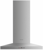 "HC30PHTX1N Fisher & Paykel 30"" Pyramid Wall Mounted Chimney Hood with 600 CFM Blower - Stainless Steel"