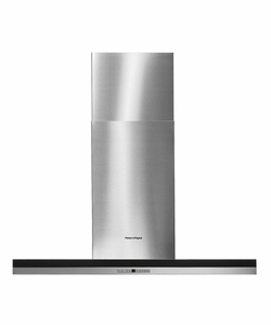 """HC36DTXB1 Fisher & Paykel 36"""" Wall Mounted Venthood with 50W Halogen Lamps - Stainless Steel"""