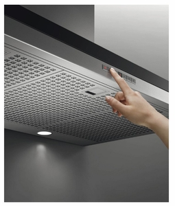 """HC36DTXB2 Fisher & Paykel 36"""" Wall Chimney Vent Hood with 600 CFM Blower and Soft Touch Control Panel - Stainless Steel"""
