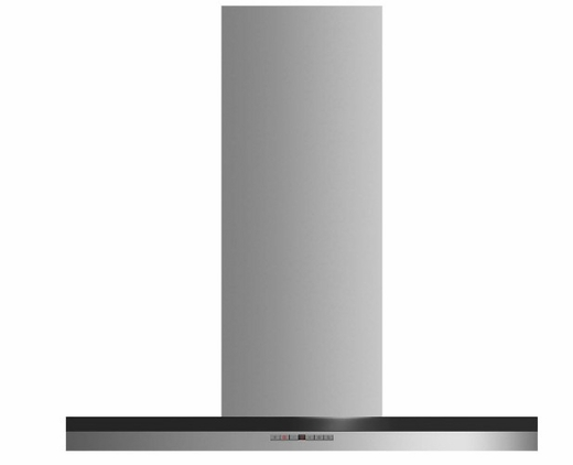 "HC36DTXB2 Fisher & Paykel 36"" Wall Chimney Vent Hood with 600 CFM Blower and Soft Touch Control Panel - Stainless Steel"