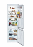 "HCB1060 Liebherr 24"" Integrated Refrigerator with Freezer and Frost Free Defrost - Custom Panel"
