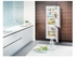 """HCB1060 Liebherr 24"""" Integrated Refrigerator with Freezer and Frost Free Defrost - Custom Panel"""