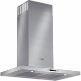 "HCB50651UC Bosch 500 Series 30"" Box Canopy Chimney Hood - Stainless Steel"