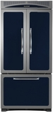"HCFDR23CBL Heartland 36"" Counter Depth Classic French Door Refrigerator with Custom Temperature Controls - Cobalt"