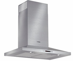 "HCP30651UC Bosch 30"" Pyramid Canopy Chimney Hood - 600 CFM Blower - 300 Series - Stainless Steel"