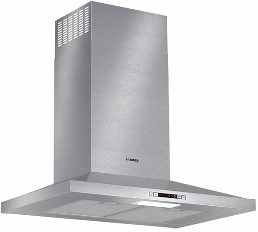 """HCP30E51UC Bosch 30"""" Pyramid Canopy Chimney Hood Energy Star Series - Stainless Steel"""