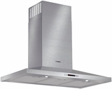 "HCP36651UC Bosch 300 Series 36"" Pyramid Canopy Chimney Hood - Stainless Steel"