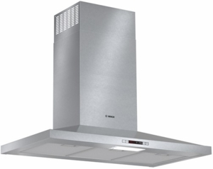 "HCP36E51UC Bosch 36"" Pyramid Canopy Chimney Hood 300 Series - Stainless Steel"