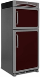 "HCTMR20RCRN Heartland 30"" Refrigerator with Top Mount Freezer & Built-In Rail System for Moving Door Storage Bins - Right Hinge - Cranberry"