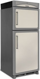 "HCTMR20RIVY Heartland 30"" Refrigerator with Top Mount Freezer & Built-In Rail System for Moving Door Storage Bins - Right Hinge - Ivory"