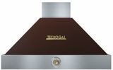 "HD361ACMG Superiore 36"" DECO Wall Mount Hood with Analog Control and Baffle Filters - Brown with Gold Accent"