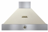"HD36PACCB Superiore 36"" DECO Series Wallmounted Hood with Analog Control and Baffe Filters - Cream with Brown Accent"