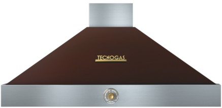 "HD481ACMG Superiore 48"" DECO Wall Mounted Hood with Analog Control - Brown with Gold Accent"