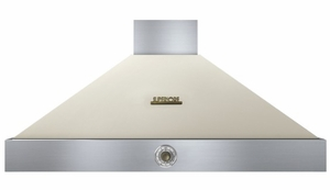 "HD48PACCB Superiore 48"" DECO Series Wall Mounted Hood with Analog Control and 900 CFM - Cream with Bronze Accent"
