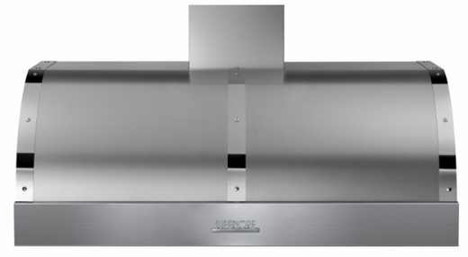 """HD48PBTSC Superiore 48"""" DECO Series Wallmount or Undermount Hood with 900 CFM and Baffle Filters - Stainless Steel with Chrome Accent"""