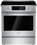 "HEI8054U Bosch 30"" Electric Slide-in Range 800 Series - Stainless Steel"