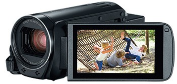 HFR800BLACK Canon Vixia Series High Definition Personal Camcorder with Digic DV Image Processor and 3.28 Megapixel Image Sensor - Black