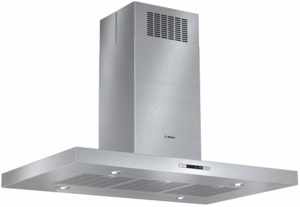 "HIB82651UC Bosch 42"" Stainless Steel 800 Series Box Canopy Island Hood - Stainless Steel"