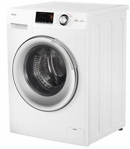 "HLC1700AXW Haier 24"" 2.0 Cubic Feet Front-Load All-in-One Washer/Dryer Combo with Stainless Steel Drum and Non-Vented Condensing Drying  - White"