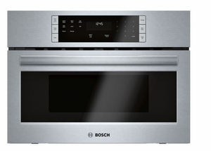 "HMB57152UC 27"" Bosch 500 Series Built-In Microwave Oven with Sensor Cook Programs and 1.6 cu ft. Capacity - Stainless Steel"