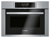 "HMC54151UC Bosch 24"" 500 Series Microwave 2-in-1 Convection Speed Oven with 10 Power Levels and 1.6 cu ft. Capacity - Stainless Steel"