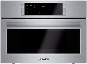 """HMC87151UC Bosch 800 Series 27"""" Speed Microwave Oven with Convection & Broil - Stainless Steel"""