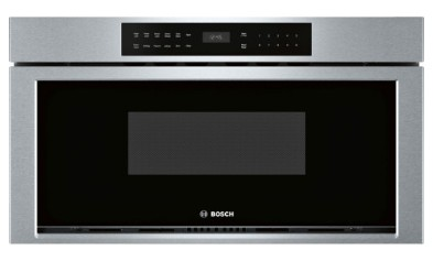 Hmd8053uc 30 Bosch 800 Series Built In Microwave With 385 Glass Touch Controls And Interior