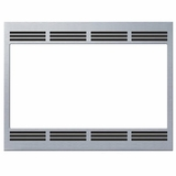 """HMT5750 Bosch 27"""" Built in Trim Kit for Traditional Microwave - Stainless Steel"""