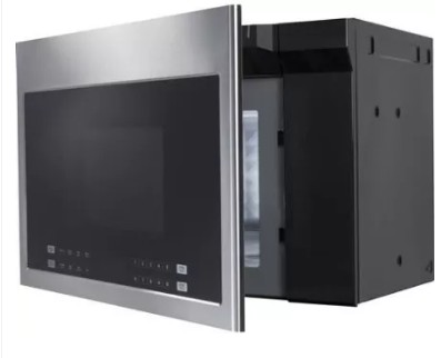 "HMV1472BHS Haier 24"" Over the Range Microwave with 300 CFM and Glass Touch Controls - Stainless Steel"