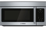 "HMV3053U Bosch 300 Series 30"" Over the Range Microwave with 300 CFM Ventilation and 2-Speed Fan - Stainless Steel"