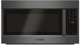 "HMV8044U Bosch 800 Series 30"" Over the Range Convection Microwave with 385 CFM Ventilation and Multi Speed Vent Efficiency - Black Stainless Steel"