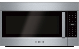 "HMV8053U Bosch 800 Series 30"" Over the Range Convection Microwave with 385 CFM Ventilation and Sensor Cooking - Stainless Steel"