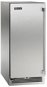 "HP15WS32R Perlick 15"" Signature Series Wine Reserve with Integrated Wood Overlay SS Right Hinge Door - Stainless Steel"