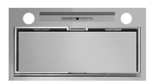 """HP24ILTX1 Fisher & Paykel 24"""" Perimeter Insert Range Hood with 600 CFM and Halogen Lights -  Brushed Stainless Steel"""