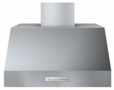 "HP301BSS Superiore 30"" Wall Mount or Undermount Hood with Electronic Button Control and Baffle Filters - Stainless Steel"