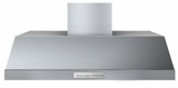 "HP361SSS Superiore 36"" PRO Wall Mount or Undermount Hood with Slider Control and Aluminum Mesh Filters - Stainless Steel"