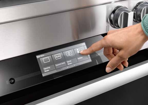 """HR1124G Miele 30"""" All Gas Range - Stainless Steel"""