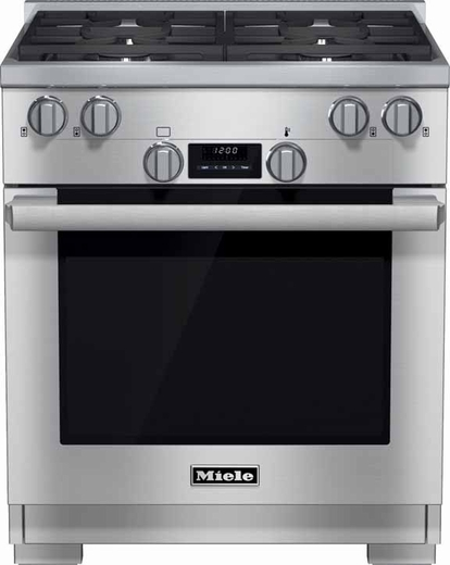 "HR1124LP Miele 30"" All Gas Range - Liquid Propane - Stainless Steel"