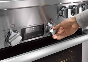 "HR11341GR Miele 36"" All Gas Range - Stainless Steel"