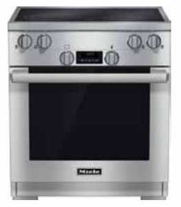 "HR1421E-208V Miele 30"" Electric Range - 208V - Stainless Steel"
