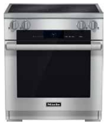"HR1622i Miele 30"" Induction Range - Stainless Steel"