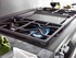 "HR1936DFGD Miele 36"" Dual Fuel  Natural Gas Range with Pro Infared Griddle - Stainless Steel"