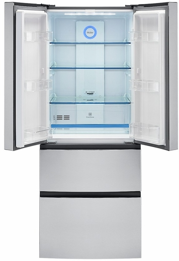 Hrf15n3ags Haier 28 French Door 149 Cu Ft Counter Depth