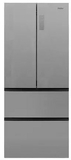 "HRF15N3BGF Haier 28"" French Door 15 Cu. Ft. French Door Bottom Mount Refrigerator with Adjustable Tempered Glass Shelves and Sabbath Mode - Stainless Steel"